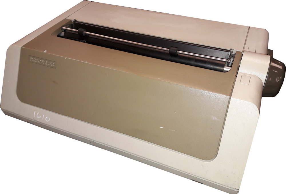 Scan of Document: HP 9871A Printer