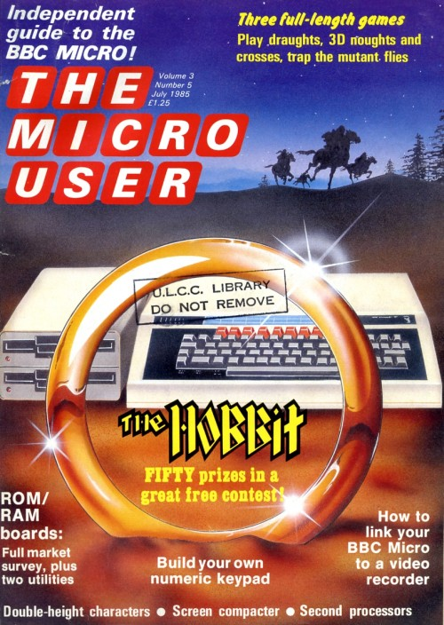 Scan of Document: The Micro User - July 1985 - Vol 3 No 5