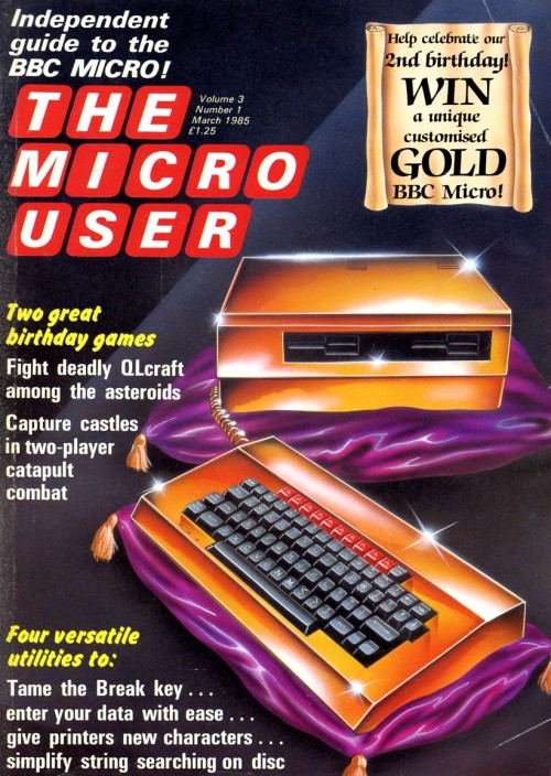 Scan of Document: The Micro User - March 1985 - Vol 3 No 1