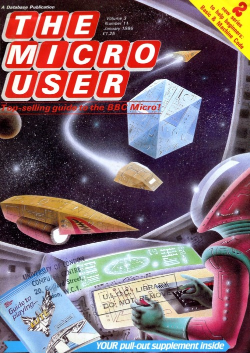 Scan of Document: The Micro User - January 1986 - Vol 3 No 11