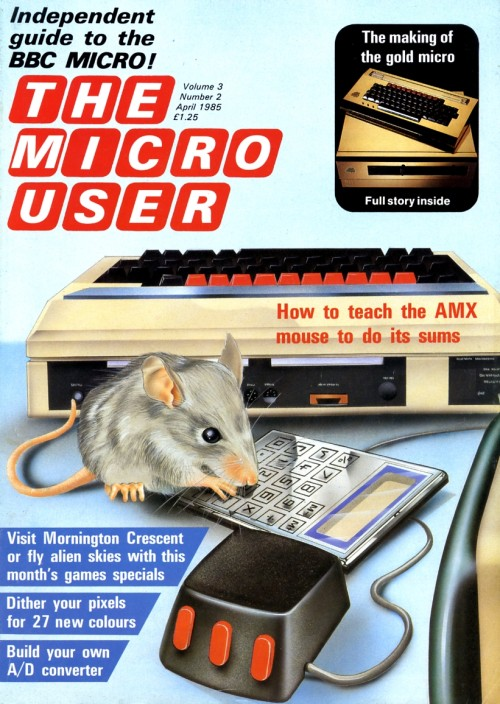 Scan of Document: The Micro User - April 1985 - Vol 3 No 2