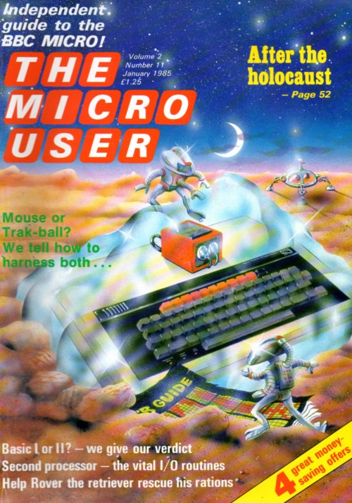 Scan of Document: The Micro User - January 1985 - Vol 2 No 11