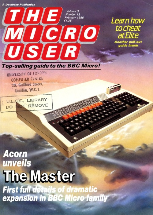 Scan of Document: The Micro User - February 1986 - Vol 3 No 12