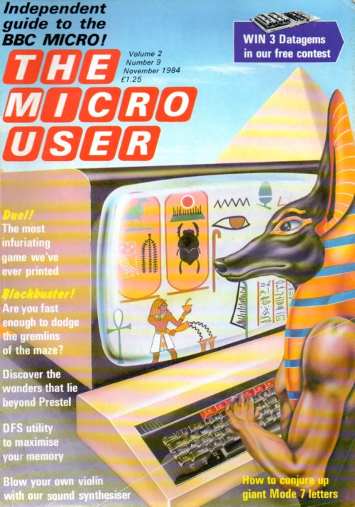Scan of Document: The Micro User - November 1984 - Vol 2 No 9