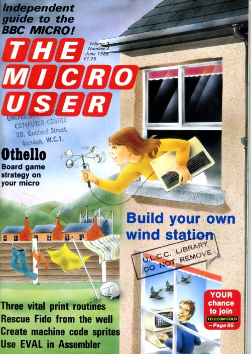 Scan of Document: The Micro User - June 1985 - Vol 3 No 4