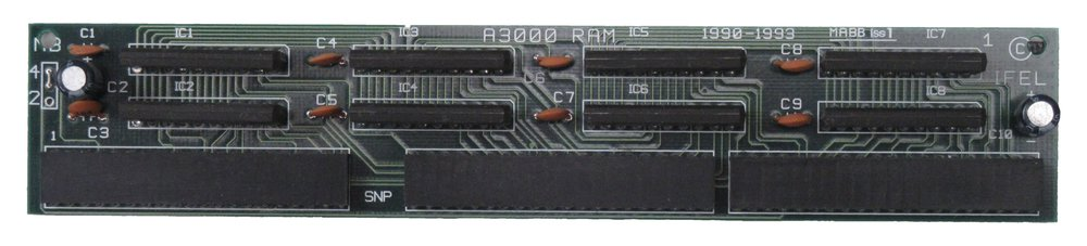 Scan of Document: IFEL MABB A3000 RAM expansion