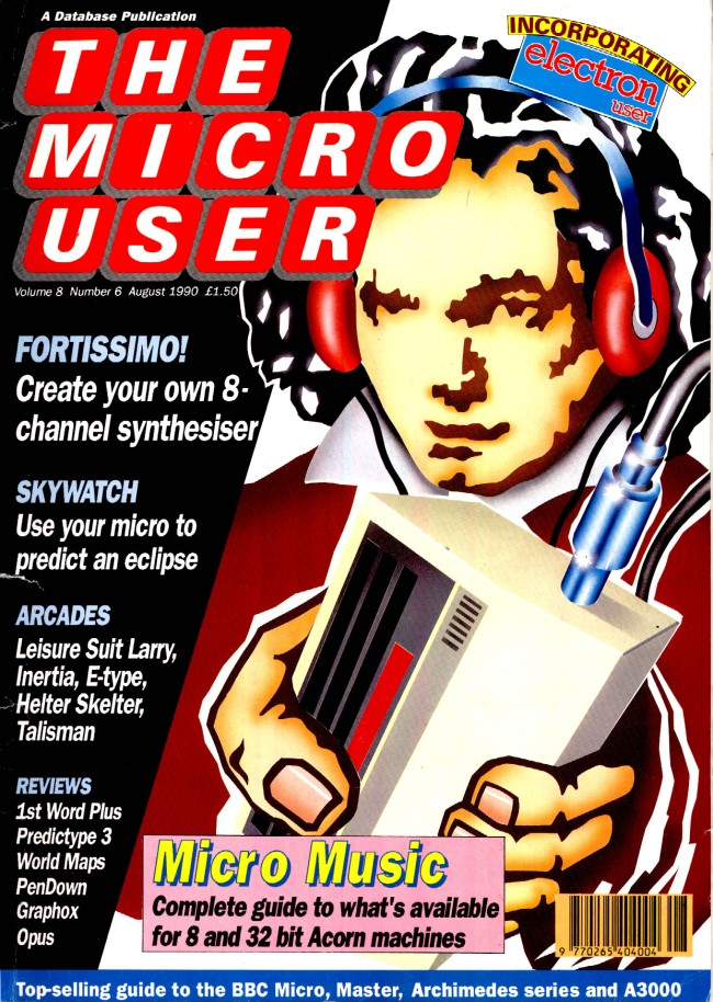 Scan of Document: The Micro User - August 1990 - Vol 8 No 6