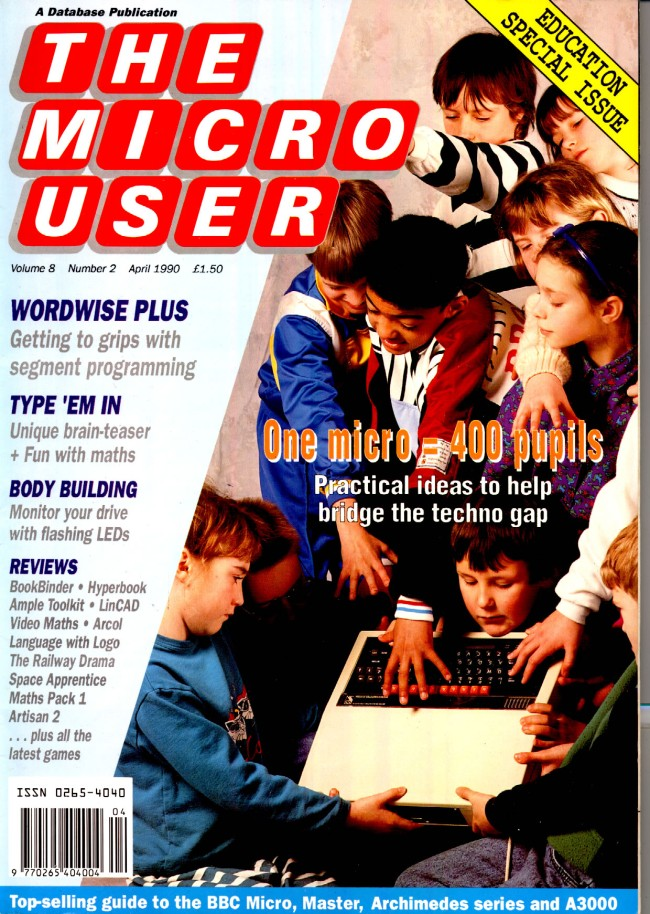 Scan of Document: The Micro User - April 1990 - Vol 8 No 2