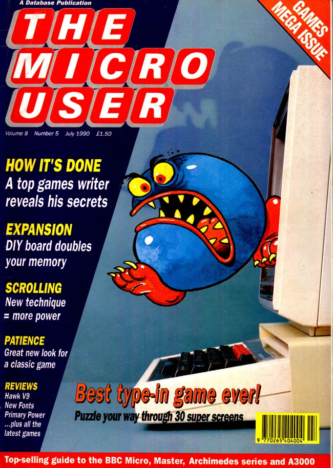 Scan of Document: The Micro User - July 1990 - Vol 8 No 5