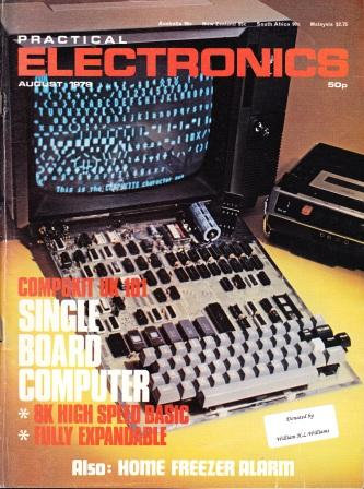 Scan of Document: Practical Electronics - August 1979