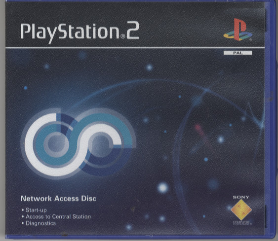 Scan of Document: PlayStation 2 Network Access Disc