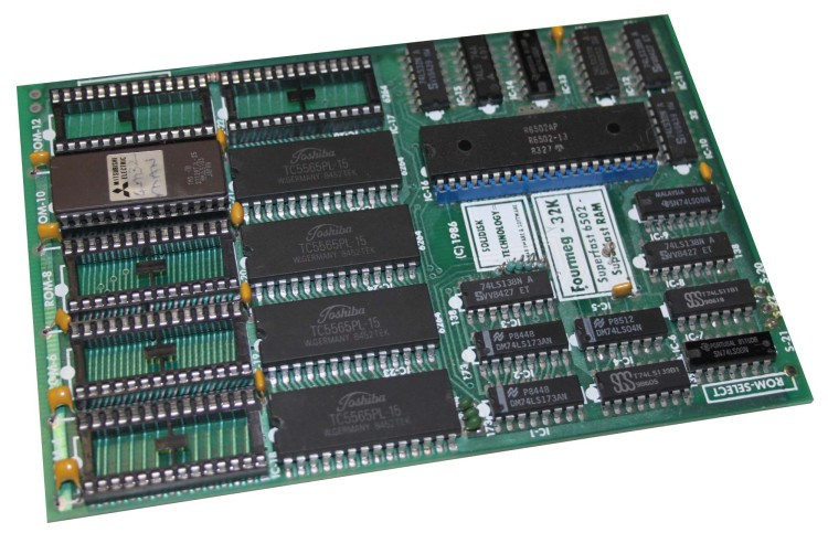 Scan of Document: Solidisk Fourmeg BBC Micro Expansion Card