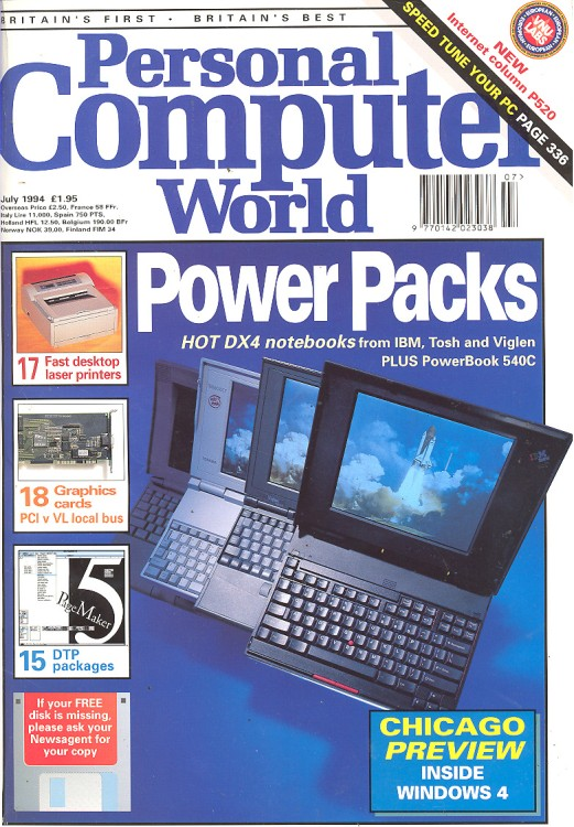 Scan of Document: Personal Computer World - July 1994