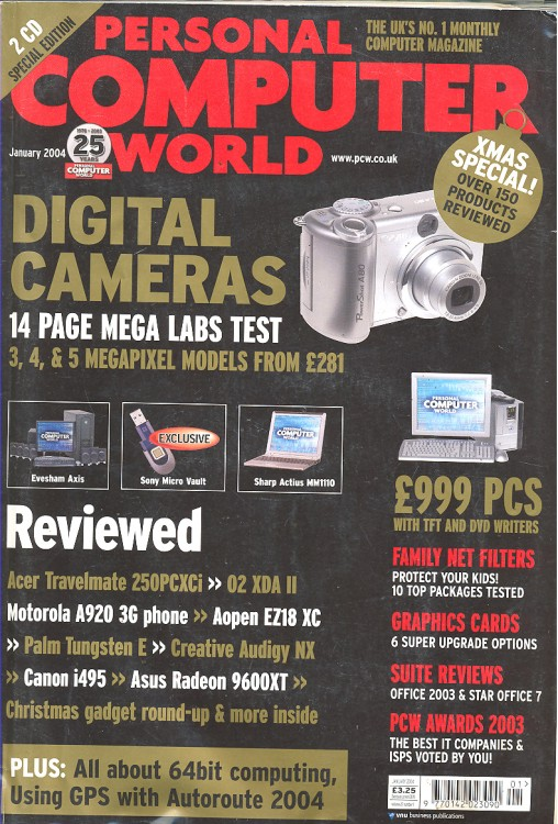 Scan of Document: Personal Computer World - January 2004