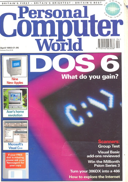 Scan of Document: Personal Computer World - April 1993