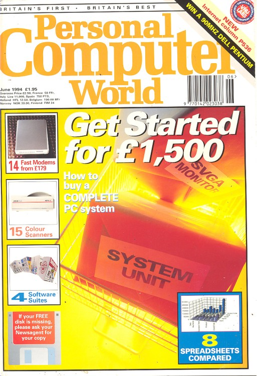 Scan of Document: Personal Computer World - June 1994