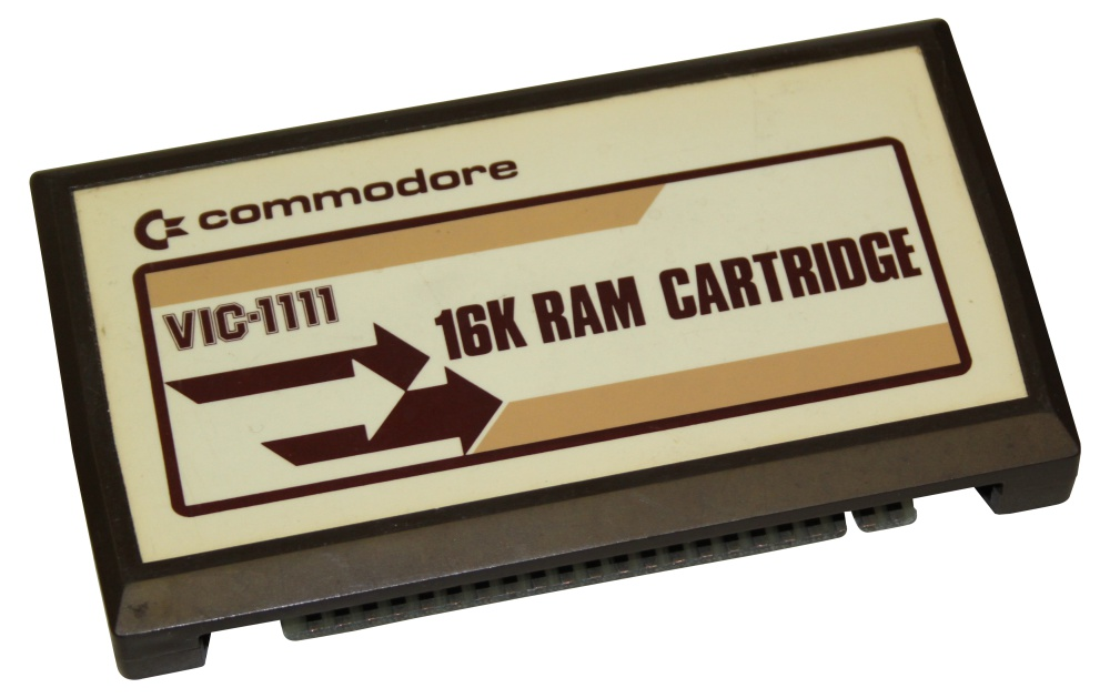 Scan of Document: Commodore VIC-20 16K RAM Cartridge