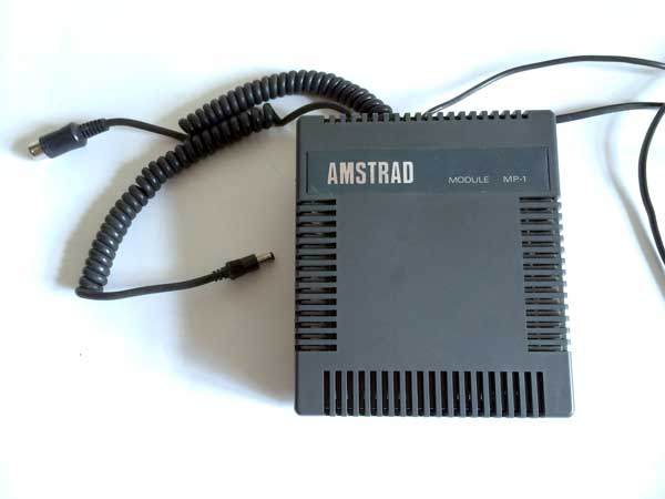 Scan of Document: Amstrad MP-1 Modulator / Switching Power Supply