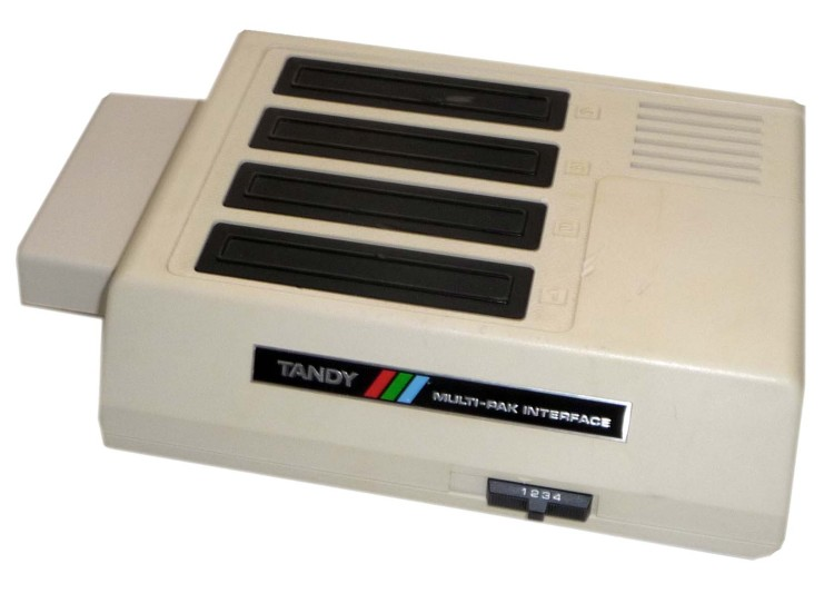 Scan of Document: Tandy Multi-Pak Interface for the colour computer 2