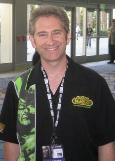 Photograph of Mike Morhaime