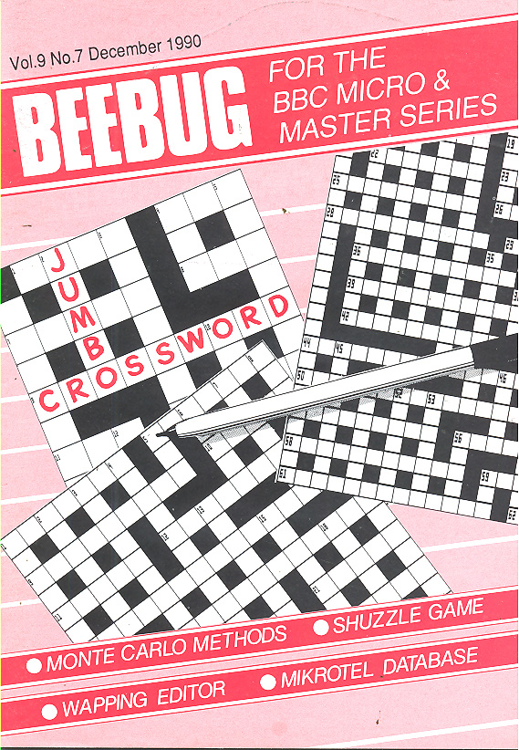 Article: Beebug Newsletter - Volume 9, Number 7 - December 1990