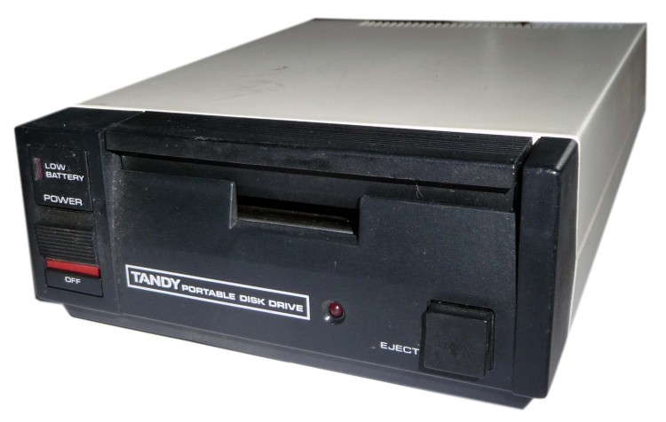 Scan of Document: Tandy Portable Disk Drive