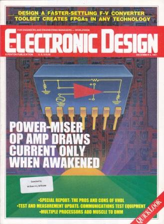 Scan of Document: Electronic Design - December 1991