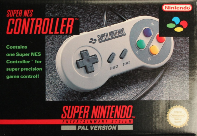 Scan of Document: Super NES Controller