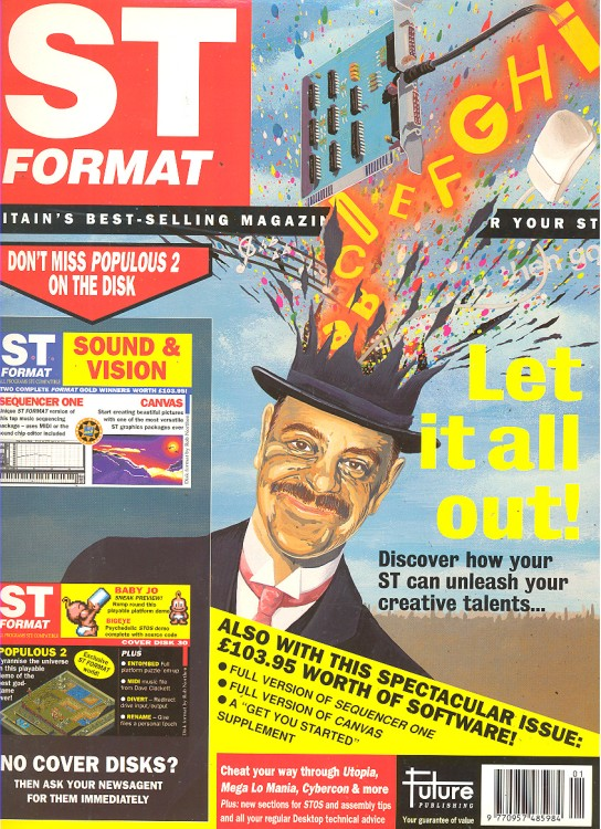 Scan of Document: ST Format - January 1992