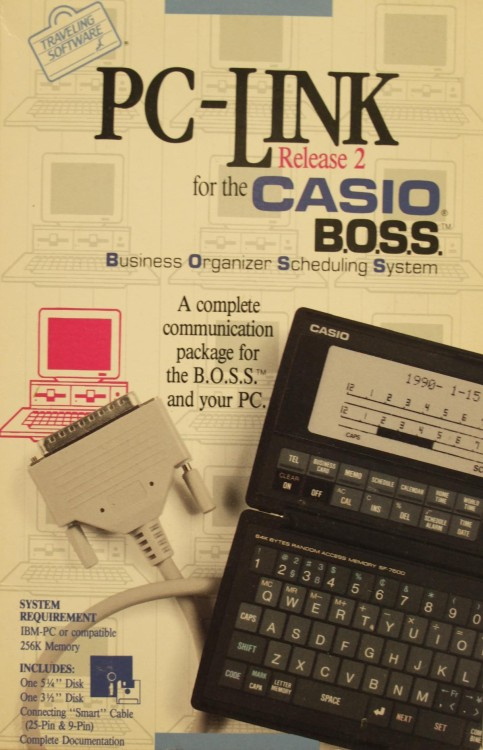 Scan of Document: PC-Link Release 2 for the Casio BOSS