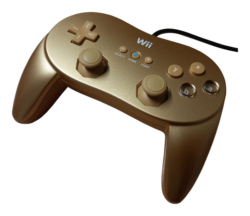 Scan of Document: Wii Classic Controller Pro - 007 Gold