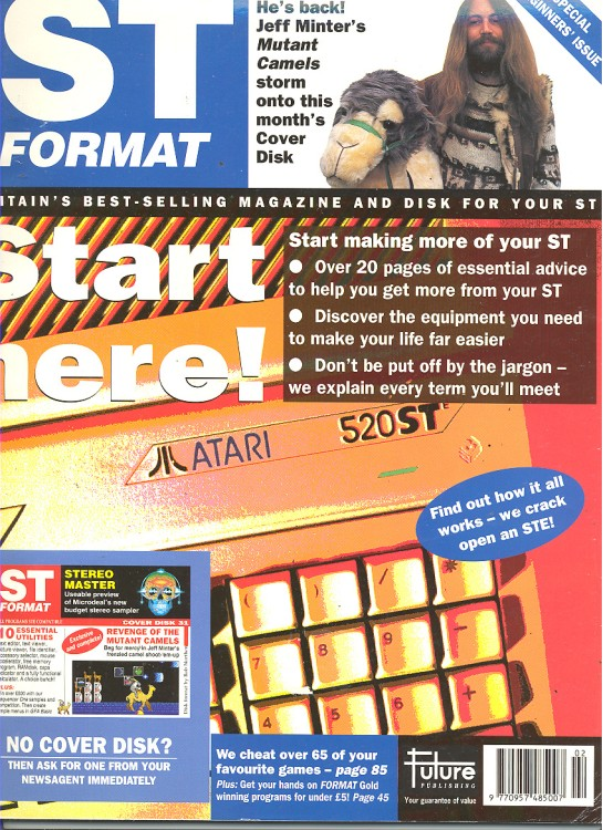 Scan of Document: ST Format - February 1992