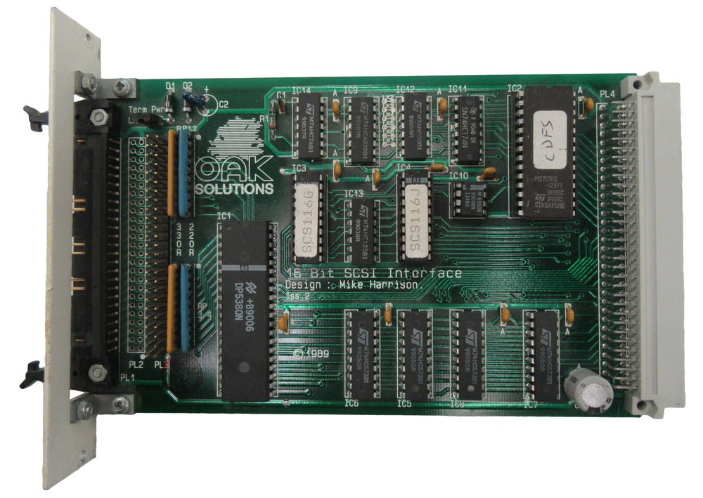 Scan of Document: Oak Solutions 16Bit SCSI Interface