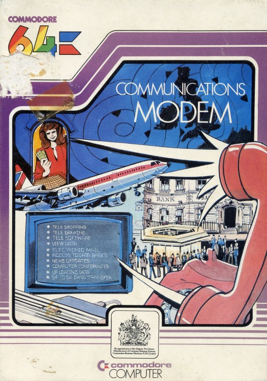 Scan of Document: Commodore 64 Communications Modem