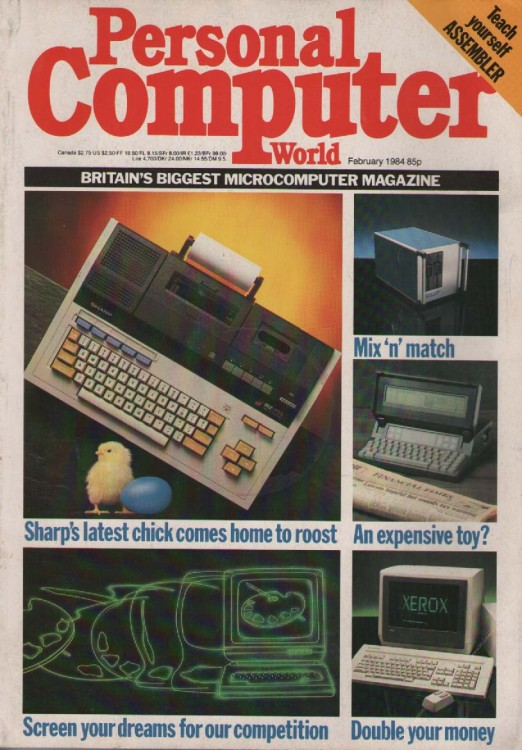 Scan of Document: Personal Computer World - February 1984