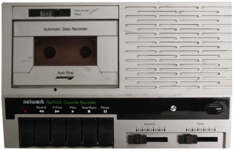 Scan of Document: Network NW900 Cassette Recorder