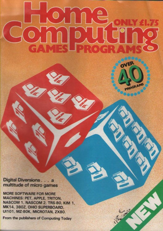 Article: Home Computing: Games Programs - Summer 1981