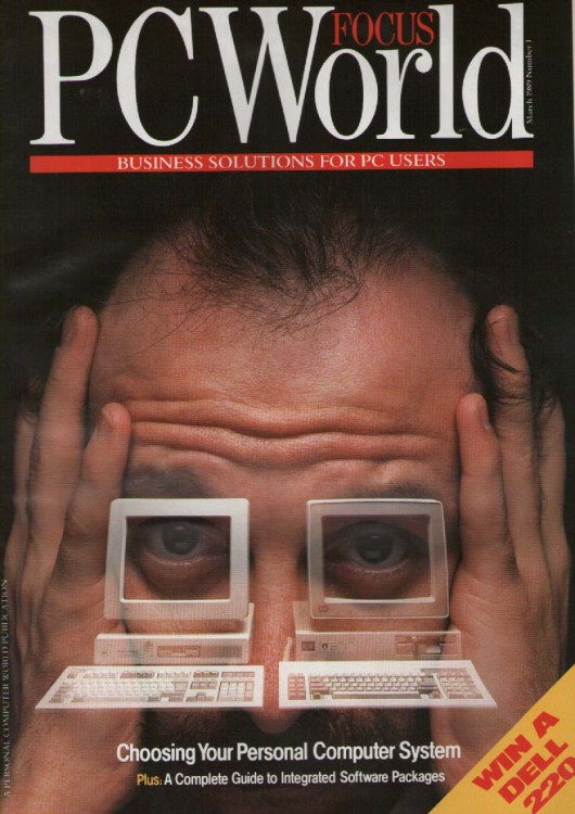 Scan of Document: PC World Focus March 1989 Number 1