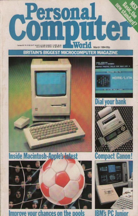 Scan of Document: Personal Computer World - March 1984