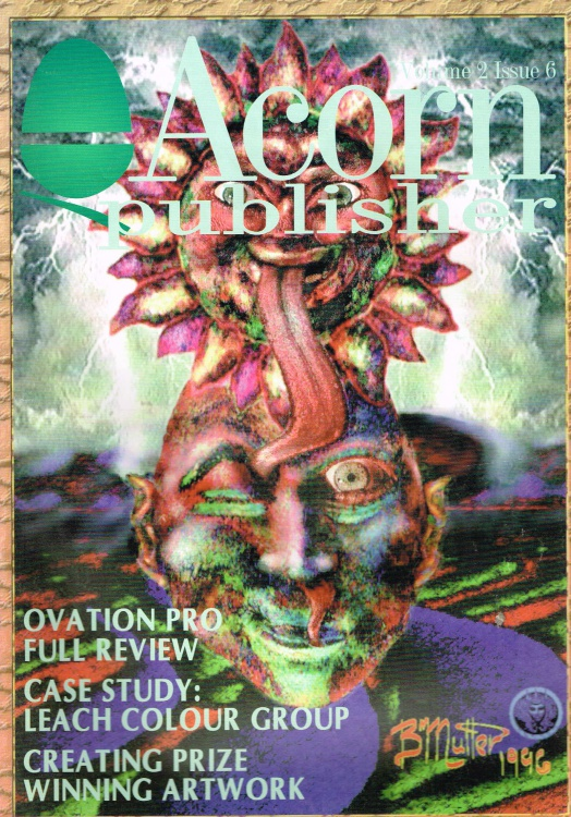 Scan of Document: Acorn Publisher - Volume 2, Issue 6 (August 1996)