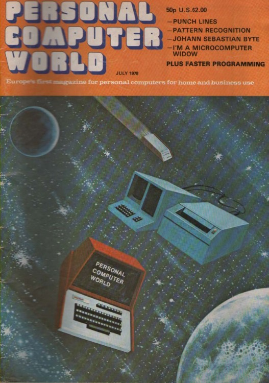Scan of Document: Personal Computer World - July 1978 -Volume 1, Number 3