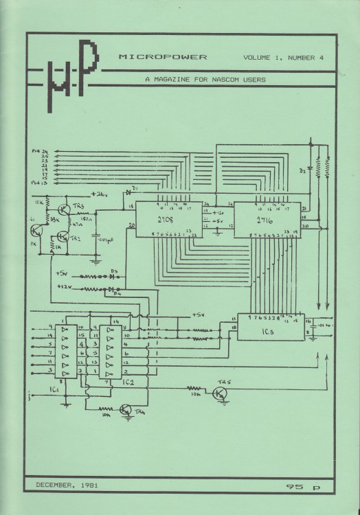 Scan of Document: Micropower - December 1981 - Volume 1 Number 4