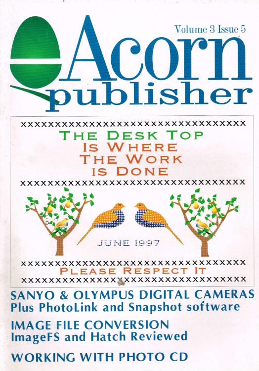 Scan of Document: Acorn Publisher - Volume 3, Issue 5 (June 1997)