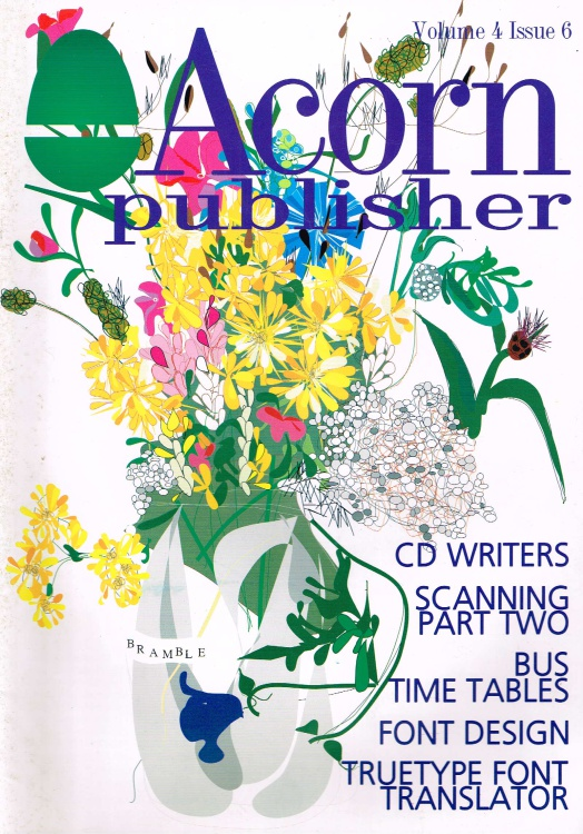 Scan of Document: Acorn Publisher - Volume 4, Issue 6 (August 1998)