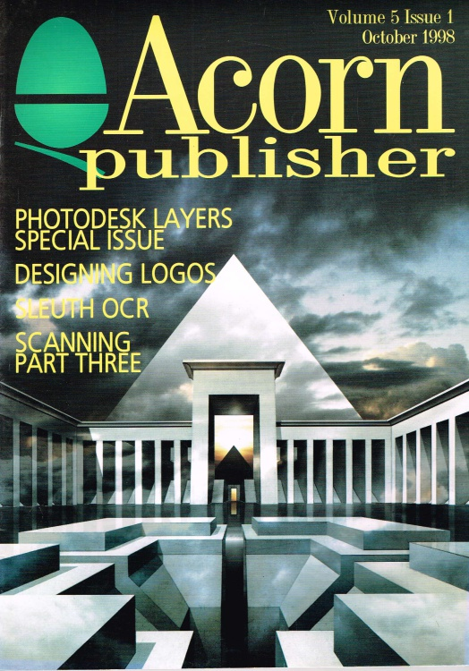 Scan of Document: Acorn Publisher - Volume 5, Issue 1 (October 1998)