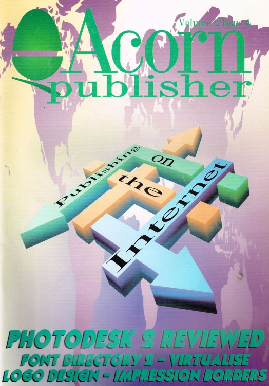 Scan of Document: Acorn Publisher - Volume 2, Issue 4 (April 1996)