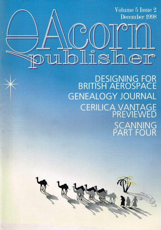 Scan of Document: Acorn Publisher - Volume 5, Issue 2 (December 1998)