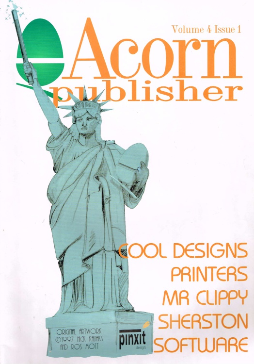 Scan of Document: Acorn Publisher - Volume 4, Issue 1 (October 1997)