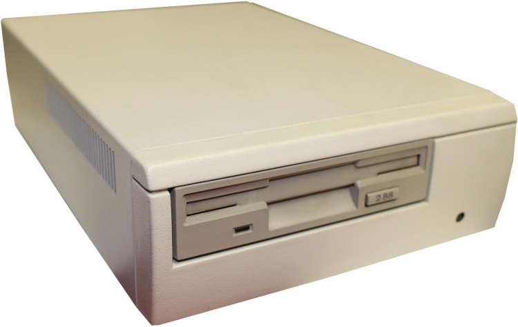 Scan of Document: External 2.88MB SCSI Floppy Drive