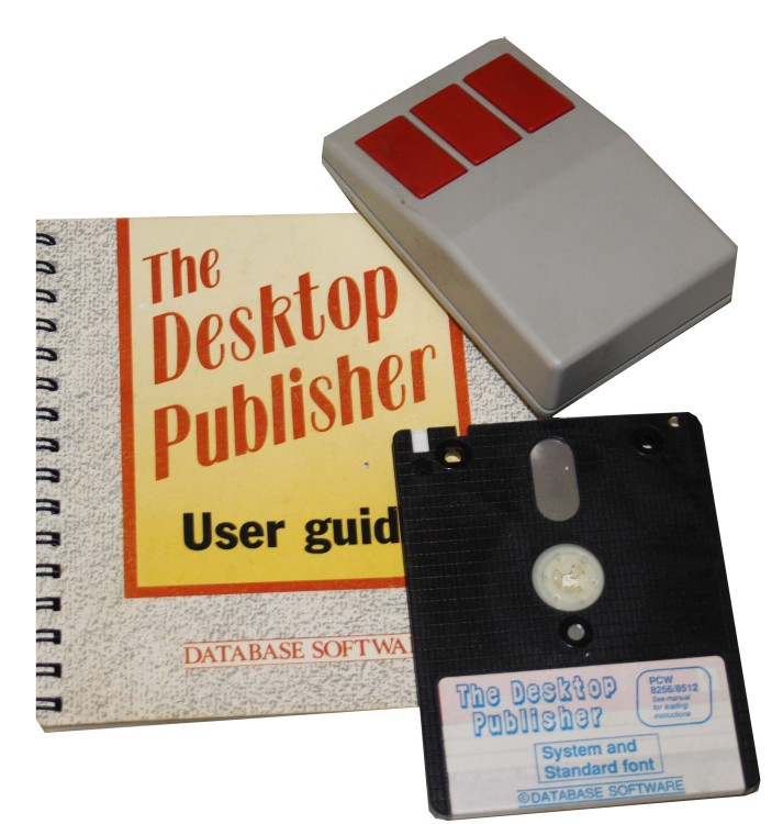 Scan of Document: The Desktop Publisher